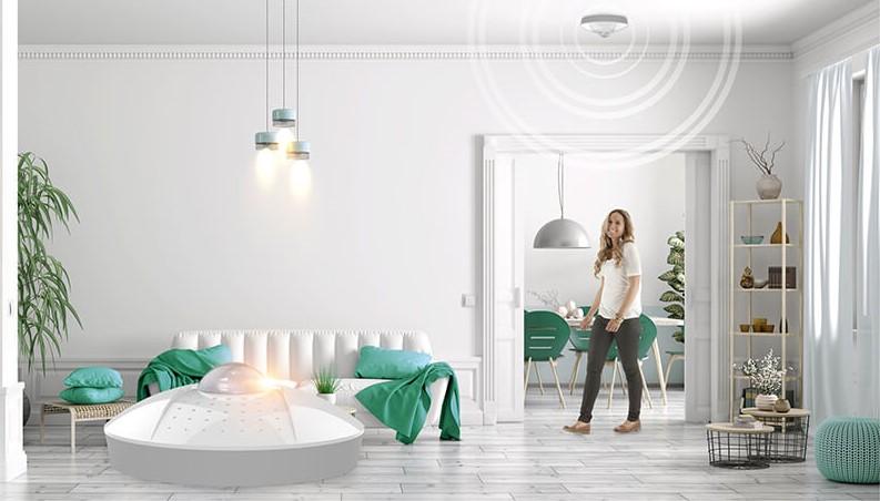 Bật đèn tự động nhà thông minh Lumi