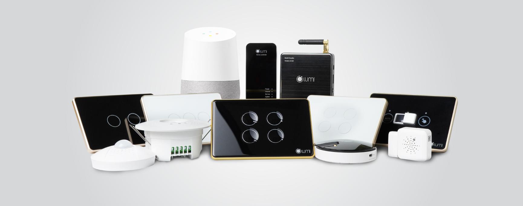 Các sản phẩm nhà thông minh Lumi